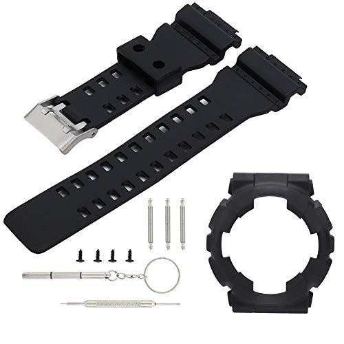 nobrand Uhrenarmband - Ersatzarmband aus Silikonarmband mit Uhrengehäuse Passend für C-asio G Shock GA110/100