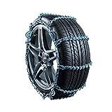 Cadena De Deslizamiento De Hielo UFFD: Antideslizante, Acero Al Manganeso Y Cadena De Neumáticos Todo Incluido Para Romper El...