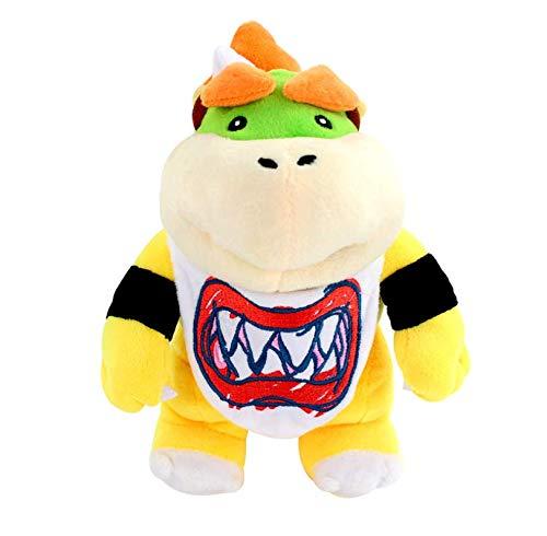 N/T Super Mario Bros 3D Land Bone Koopa Dragon Dark Bowser Lemmy Morton Roy Wendy Peluches Muñecos De Peluche Regalos para Niños 23Cm