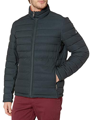 Carhartt Men's Big & Tall Quilted Flannel Lined Duck Active Jacket J140,Brown,XX-Large Tall