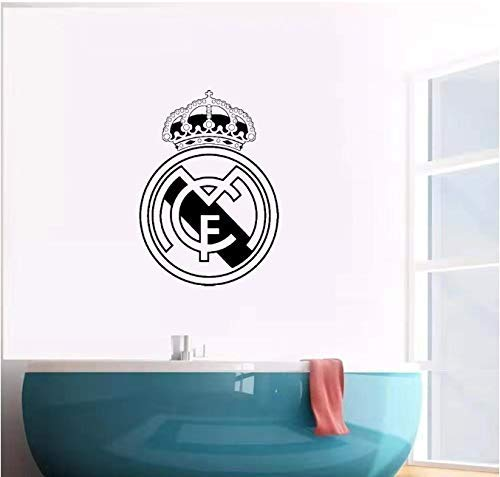 Voetbal Stickers Real Madrid Amsterdam Fc Logo Muursticker Art Decal Vinyl Stickers voor Office Room Decals Behang Poster 43Cm X 60Cm