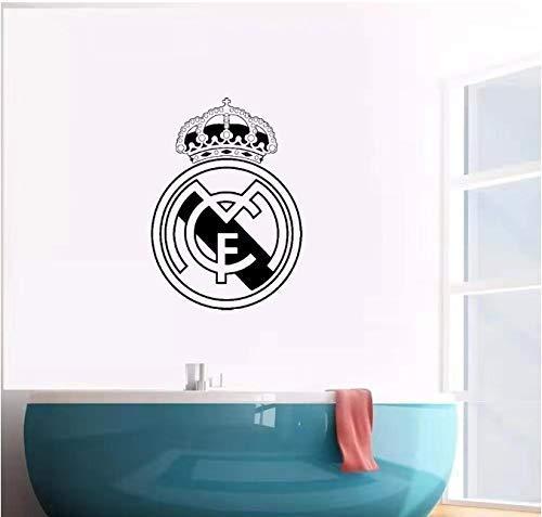 Voetbal Stickers Real Madrid Amsterdam Fc Logo Muursticker Art Decal Vinyl Stickers voor Office Room Decals Behang Poster 43Cm X 60Cm