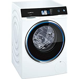 Siemens WM14U940EU Independiente Carga frontal 10kg 1400RPM A+++ Negro, Blanco – Lavadora (Independiente, Carga frontal…