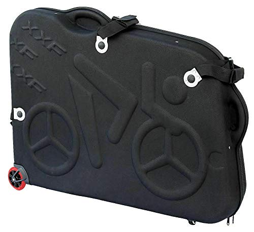 CyclingDeal Bike Bicycle Air Flights Travel Hard Case Box Bag EVA Material Light Weight and Durable - Great 700c Road Bike 26' 27.5' Mountain Bike -Transport Equipment Pro