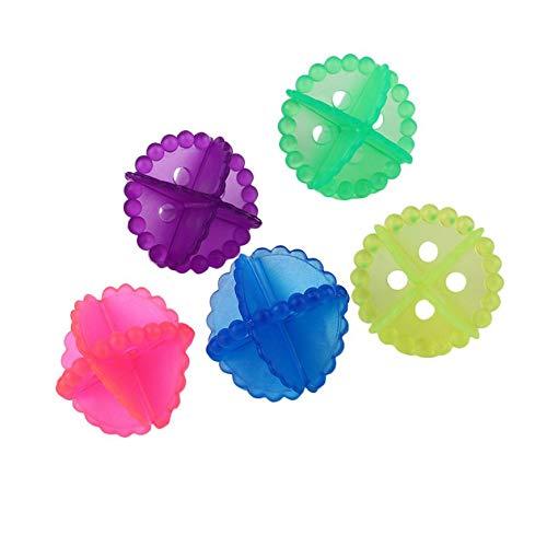 A bola da lavanderia da remoção do cabelo veste a bola limpa do secador dos produtos químicos da máquina de lavar