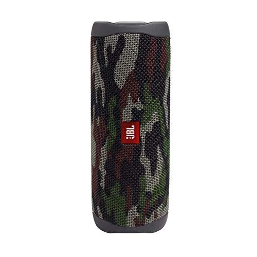 JBL FLIP5 Bluetoothスピーカー IPX7防水/USB Type-C充電/パッシブラジエーター搭載/ポータブル スクワッド JBLFLIP5SQUAD 【国内正規品/メーカー1年保証付き】