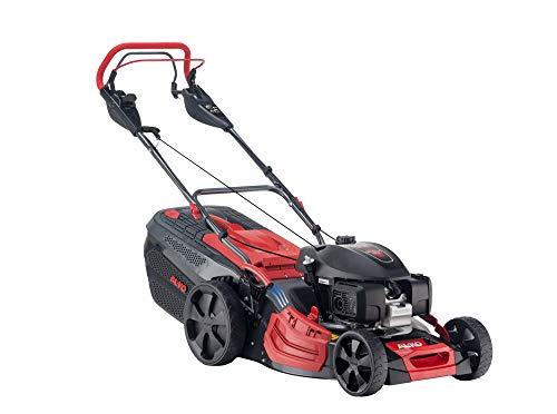 AL-KO Benzin-Rasenmäher Premium 521 VS-H (51 cm Schnittbreite, 3.2 kW Motorleistung, robustes Stahlblechgehäuse, variabler Hinterradantrieb, Mulchfunktion, Seitenauswurf, für Rasenflächen bis 1800 m²)