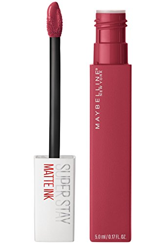 Maybelline New York Super Stay Matte Ink Liquid Lipstick, Matte Finish, 5ml - 80 Ruler