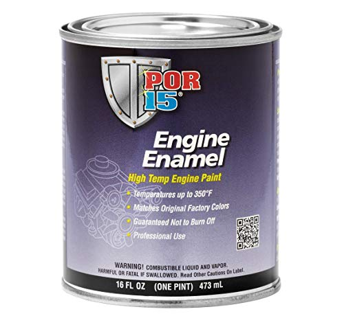 POR-15 42208 MG Maroon Engine Enamel - 1 pint