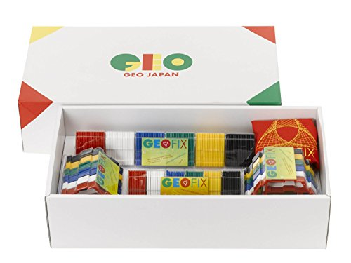 【正規品】3D GEOFIX(ジオフィクス)/ジオシェイプス フルセット スタンダードカラー 4歳からの知育玩具