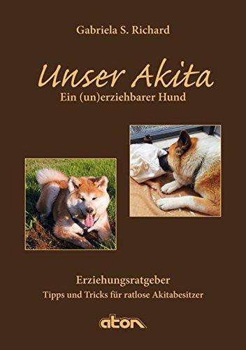 Unser Akita: Ein (un)erziehbarer Hund