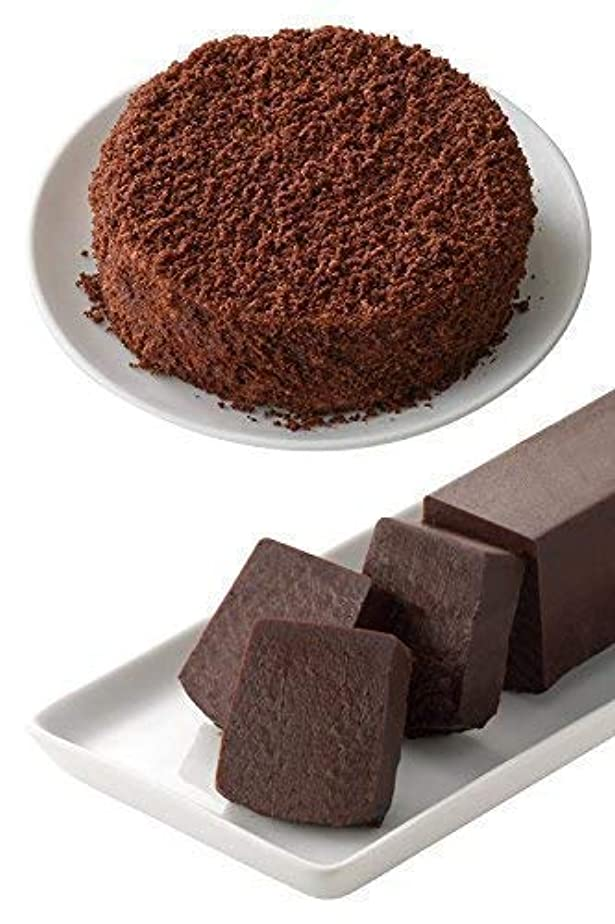 故意にビーチ鰐ルタオ (LeTAO) お中元 夏 ギフト チョコレートケーキ ベストセラー ショコラセット (ショコラドゥーブル+サンサシオンハーフ 、各一個入り) 贈答品 チーズケーキ 贈り物 プレゼント 人気 スイーツ ケーキ お菓子 北海道 お取り寄せ