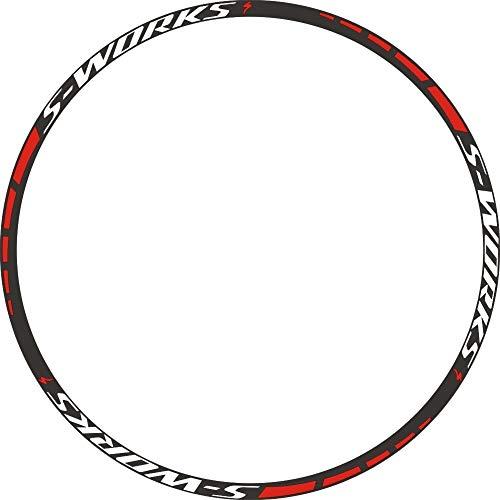 MTB-Felgen-Rad-Aufkleber Abziehbilder Mountainbike-Radset ersetzendes Vinyl für 26