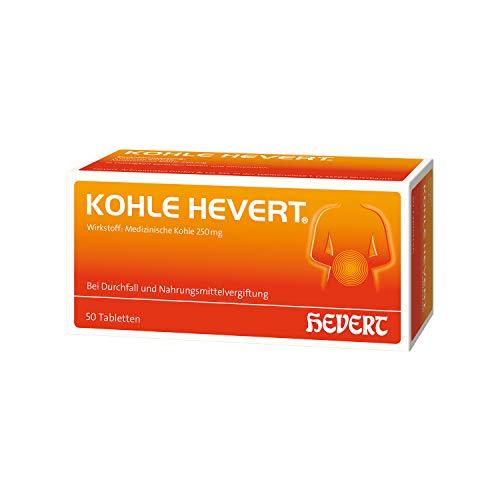 KOHLE Hevert Tabletten 50 St