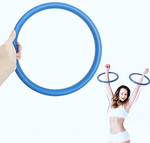 mengqiqi Hula Hoop,Upgrade Arme Aktualisierung Fitnessübungen Arm Hula Hoop Reifen,Gewichtete Armreifen,Armfettverbrennung,Geräte Zur Gewichtsreduktion Um Kalorien Zu Verbrennen Und Gewicht(2 Stück)