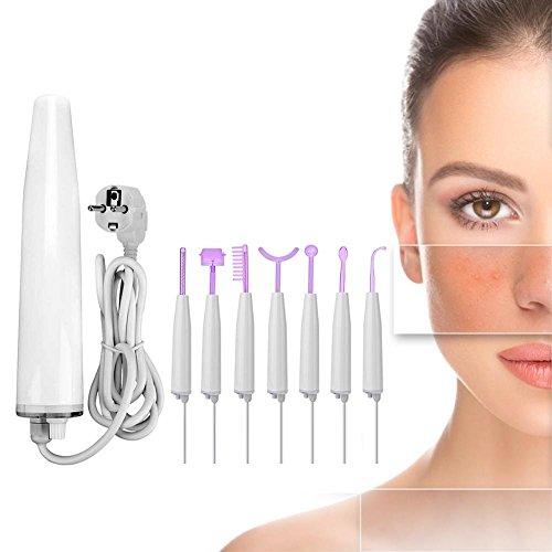 Máquina facial de alta frecuencia, Terapia portátil de alta frecuencia Apriete la...