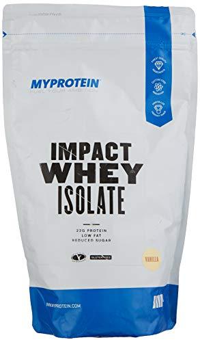 Myprotein Impact Whey Isolate Protein Powder, Vanill