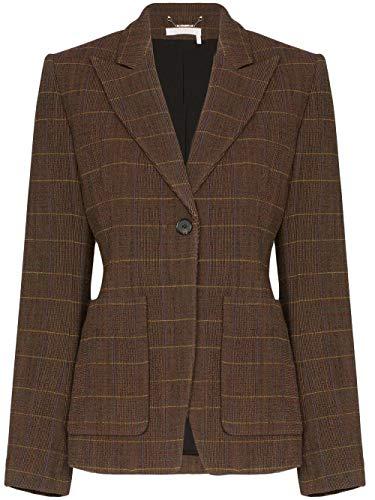 Luxury Fashion | Chloé Dames CHC19AVE161669CA Bruin Polyamide Blazers | Herfst-winter 19