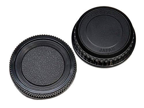 エフフォト F-Foto 互換 ボディ & レンズ リア キャップ セット ペンタックス PENTAX Kマウント対応 CS-PK