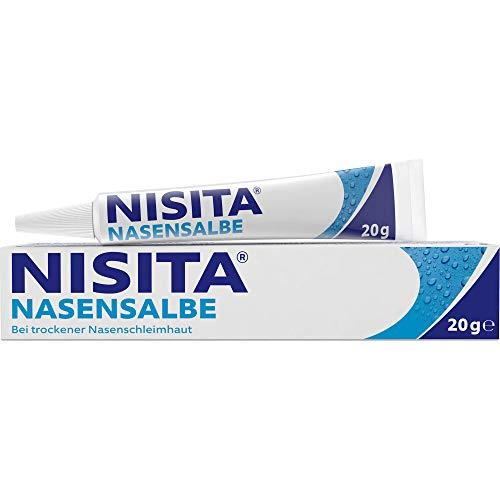 Nisita Nasensalbe bei trockener Nasenschleimhaut, 20 g Salbe