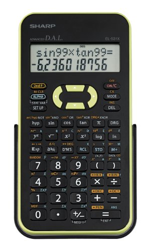 Sharp EL-531XBGR Engineering/Scientific Calculator