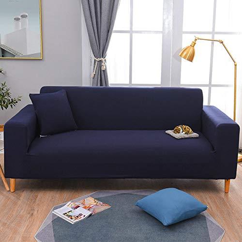 KTUCN Funda de sofá elástica Funda de sofá elástica para Sala de Estar Funda de sofá seccional Funda de sillón Protector de Muebles, 15, 2pcs Pillowcase 40cm