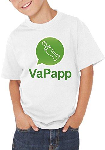 Fermento Italia – Camiseta Infantil Divertida VAPAPP – Camiseta humorística 100% algodón JHK Bianco 2 años