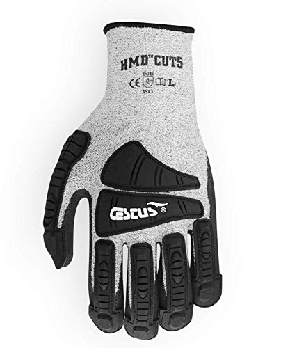 Inexpensive Cestus HMD CUT5-3008 SEAL limited product XL Cut Resistant 11 Gray Glove X-Large P