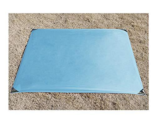 Fuxwlgs Manta de Picnic 150 * 180 cm Portátil Pocket Camping Mat Plegable Camping Colchón Bebé Subida al Aire Libre Ultra-Thin Impermeable Playa Picnic Manta (Color : Sky Blue, Size : 150x180cm)