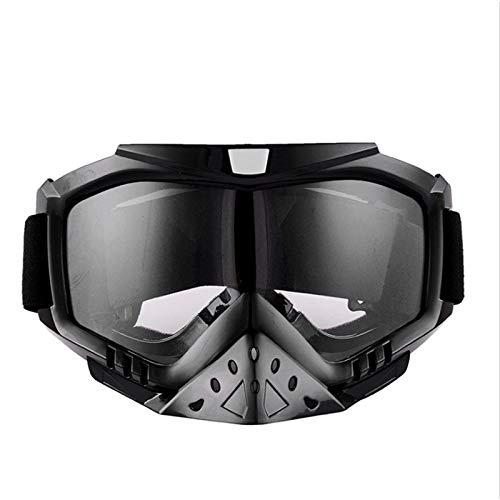 Gafas De Esquí Gafas De Carreras Bicicleta Eléctrica Casco De Cross-Country Gafas De Montar A Prueba De Viento,2