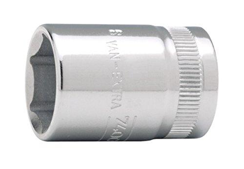 Bahco SB7400SM-14 BHSB7400SM-14 Douille, Argent, 14 mm