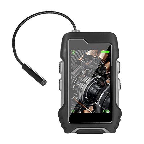 Kecheer Endoscoop, industriële endoscoop met 2,7 inch soft pipe proef, handheld inspectiecamera voor veehicle/airconditioner/pipeline reparatie IP67 waterdichte camera-kop