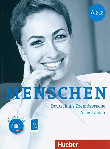 MENSCHEN A2.2 Ab+CD-Audio (ejerc.): Arbeitsbuch A2.2 mit Audio-CD: Vol. 4