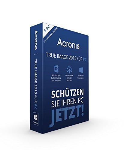 Acronis True Image 2015 für PC - 1 PC [import allemand]