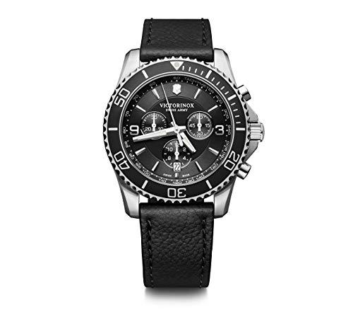 Victorinox Hombre Maverick Chronograph - Reloj de Acero Inoxidable de Cuarzo analógico de fabricación Suiza 241864