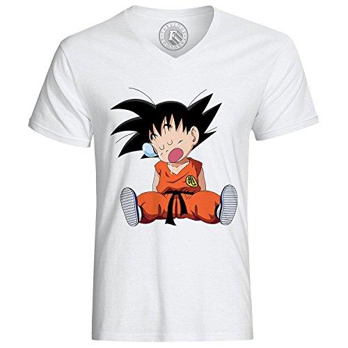 Fabulous T-Shirt Dragon Ball DBZ Goku Tired Manga Anime
