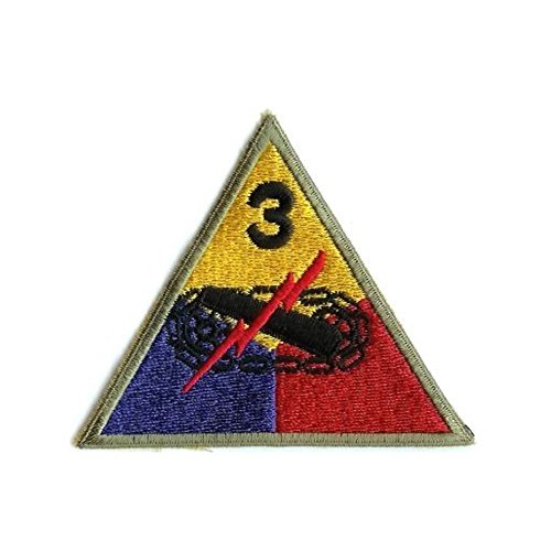Reproduktion des 2. Weltkriegs der US Army 3rd Armored Division (Spearhead Division)