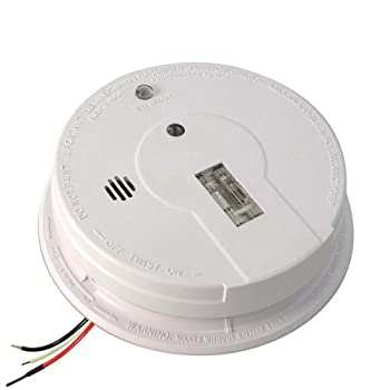 Kidde Hardwire Smoke Detector Alarm with Exit Light and Battery Backup   Model i12080