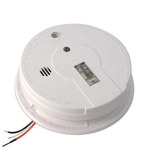 Kidde Hardwire Smoke Detector Alarm with Exit Light and Battery Backup | Model i12080