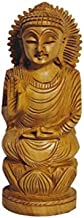 Wooden Buddha Statue, Beautifully Carved from Teak Wood, Ideal for Meditation, Outdoor Zen Decor, Serenity at Home Latest