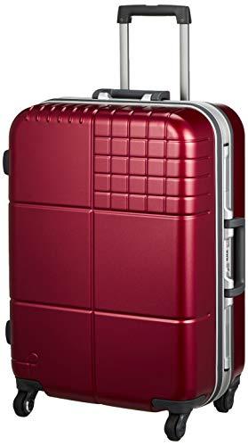 [プロテカ] スーツケース ブロックパック サイレントキャスター ハンガー付 60L 58 cm 4.2kg 28 cm 4200kg 07961-10 コロナレッド
