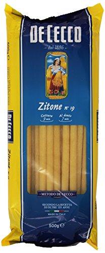 De Cecco - Zitone, Pasta di Semola di Grano Duro - 500 g