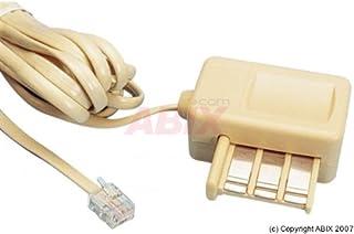 Connectique téléphonie et ADSL Cordon RJ11 / Gigogne Mâle/Femelle 3 M 93650