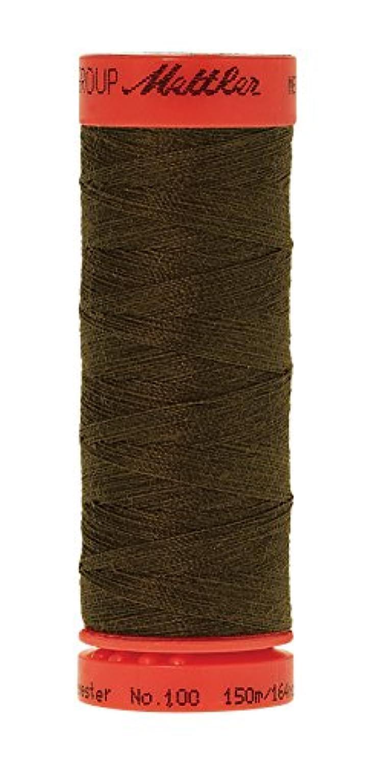 Mettler Metrosene 100% Core Spun Polyester Thread, 165 yd, Golden Brown
