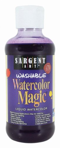 Sargent Art 22-6042 8-Ounce Watercolor Magic, Violet