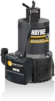 Wayne HP Automatic On Off Electric Water Removal Pump