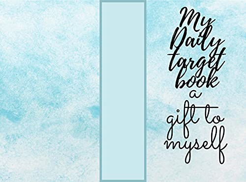 my daily target book a gift to my self : to do list (English Edition)