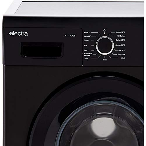 Electra W1449CF2B 7Kg Washing Machine with 1400 rpm - Black