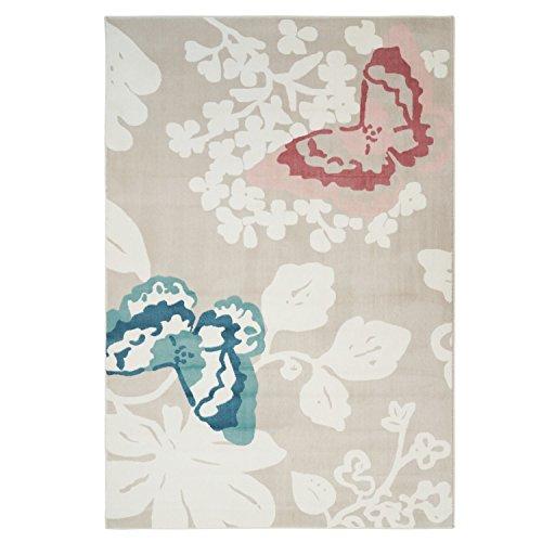 MyShop24h.de Tapijt, pastelkleuren, inspiratie, pijnstillers, bloemen voor kinderen en tienerkamer 200 x 290 cm Pastelkleuren
