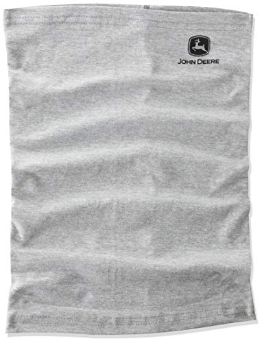 John Deere Gray Neck Gaiter/Face Mask, One Size